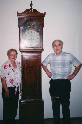 Ruth and Jim loved their clocks