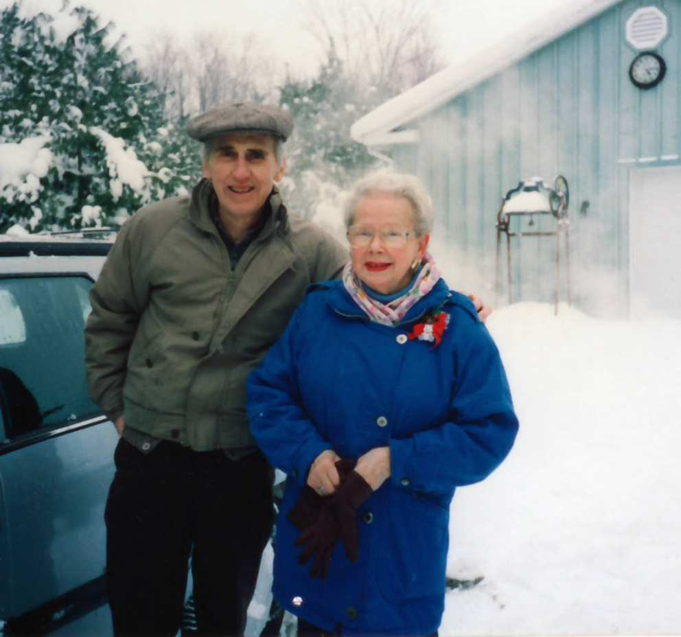 Jim and Ruth at lodge (early 1990s)