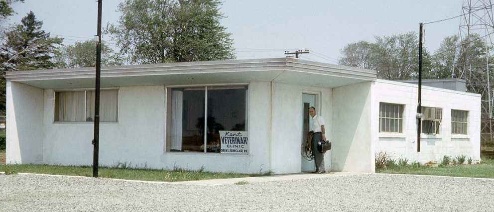 Kent Veterinary Clinic in the early 1960s