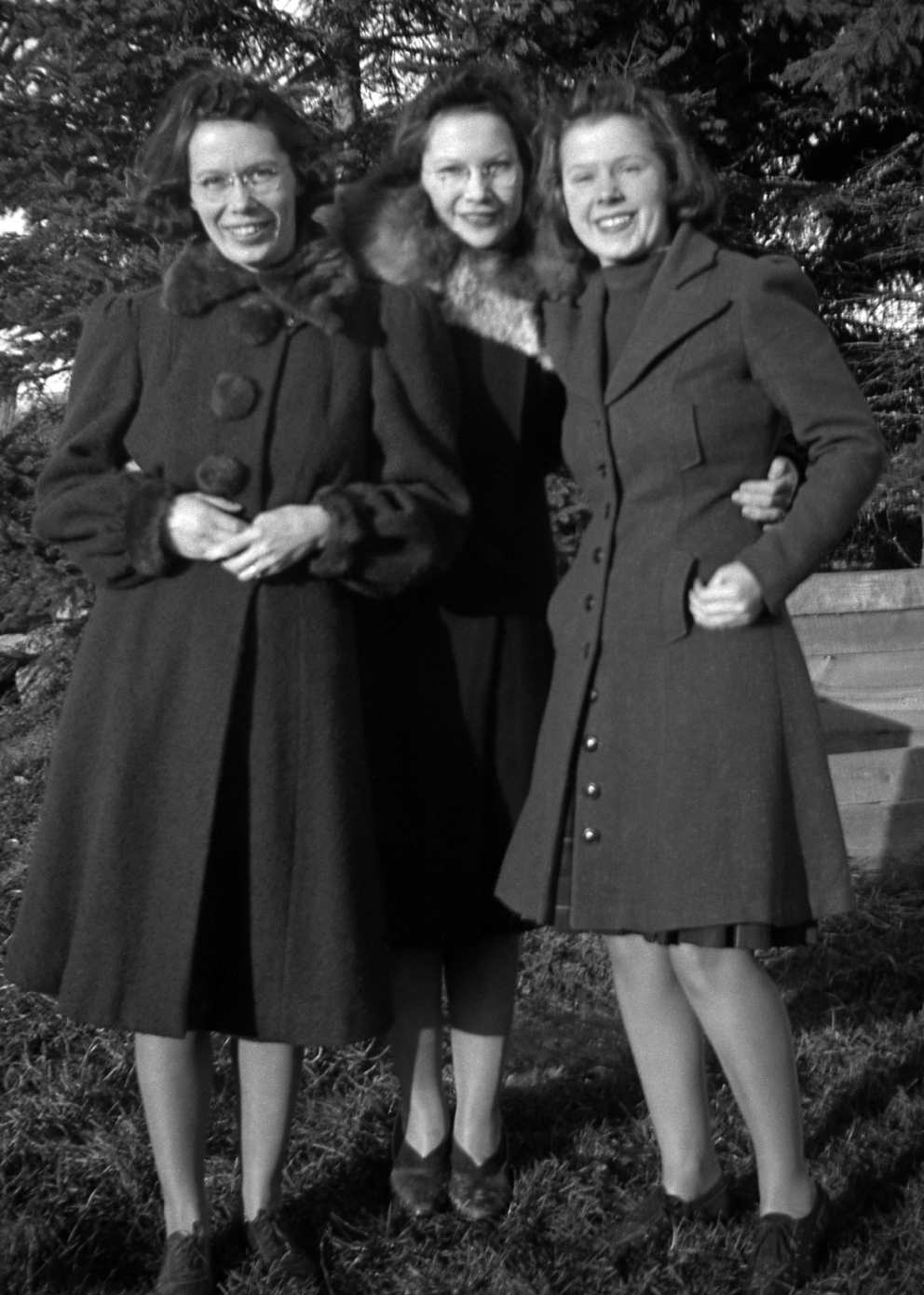 Marg, Mary and Ruth Donovan in the late 1930s