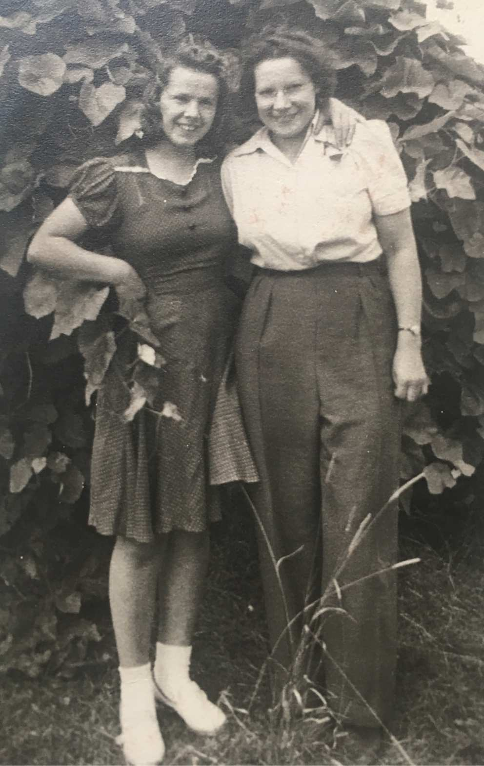 Ruth and Mary Donovan in the late 30s
